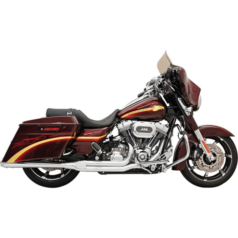 Slipon ROAD RAGE Harley-Davidson 2-INTO-1 BASSANI XHAUST