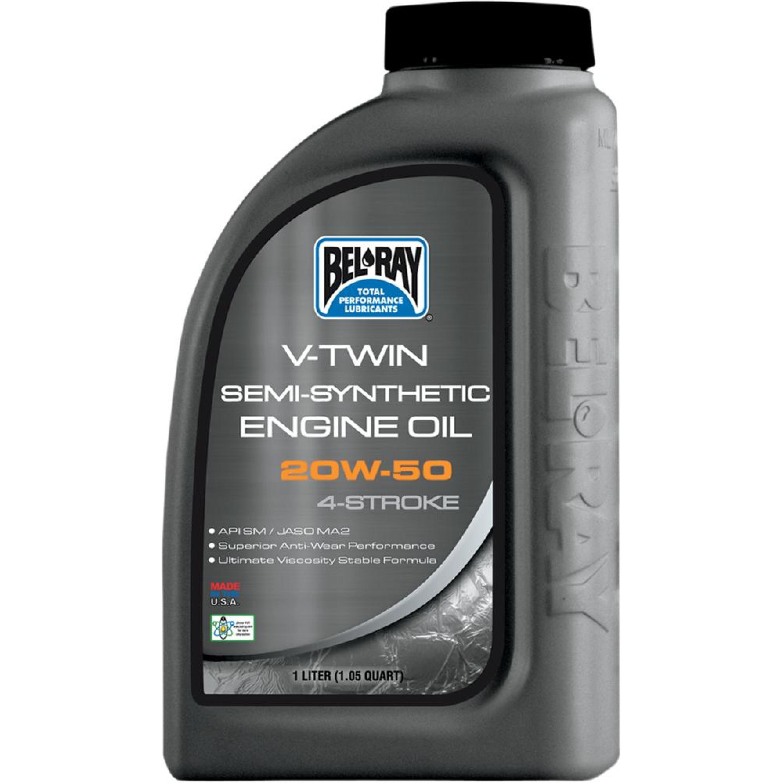 OIL VTWIN SEMI 20W50 1L (1 QT)