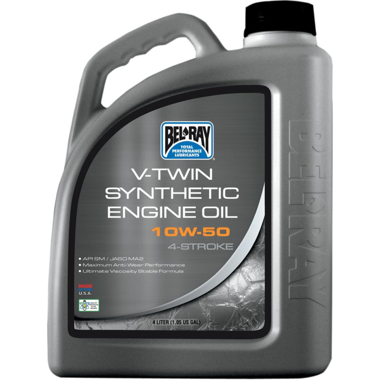OIL VTWIN SYN 10W50 4L (1 GAL)