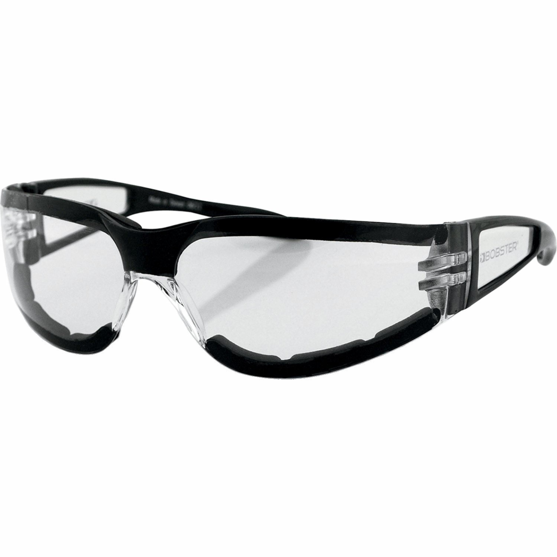 Bobster MC-Glasögon SHIELD II Svart/Clear