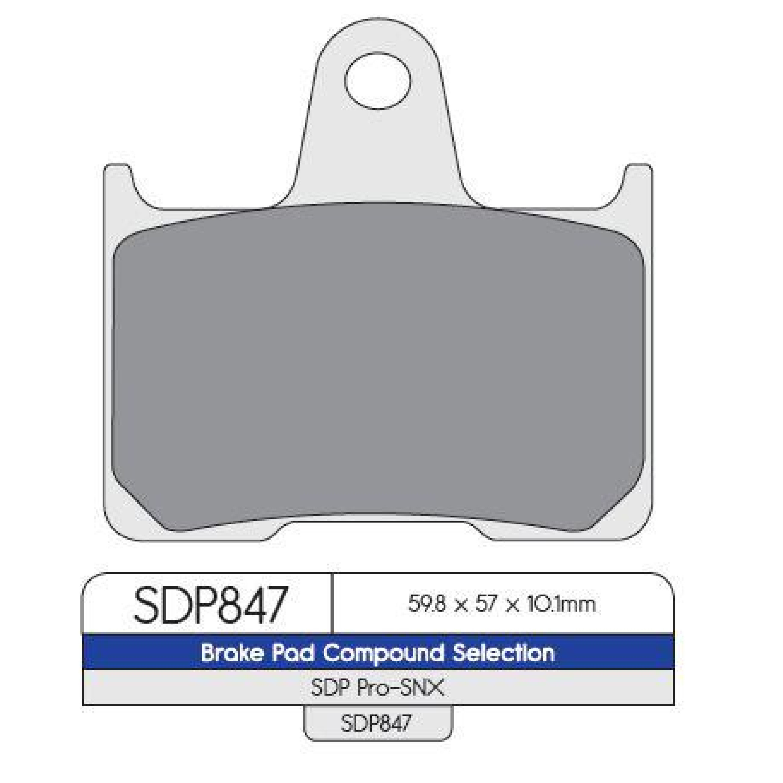 Bromsbelägg SNX DP Brakes