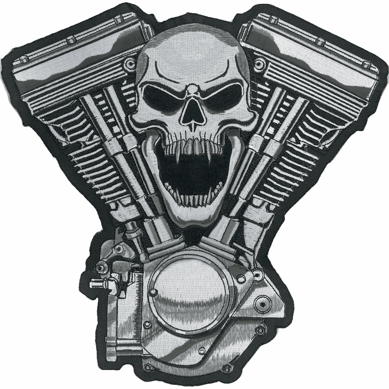 PATCH SKULL MOTOR