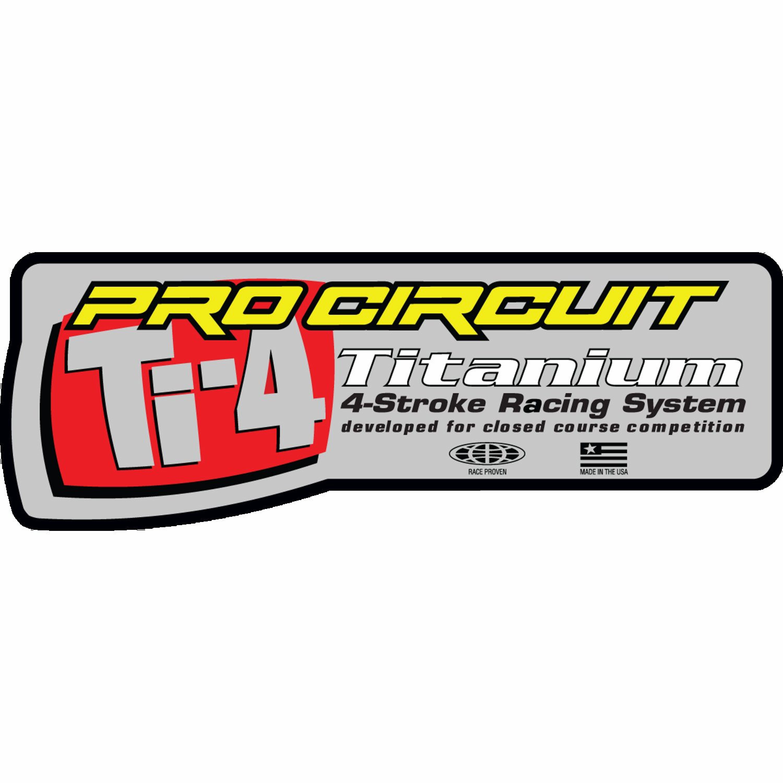 Dekal Värmetålig Ti-4 Universal Pro Circuit