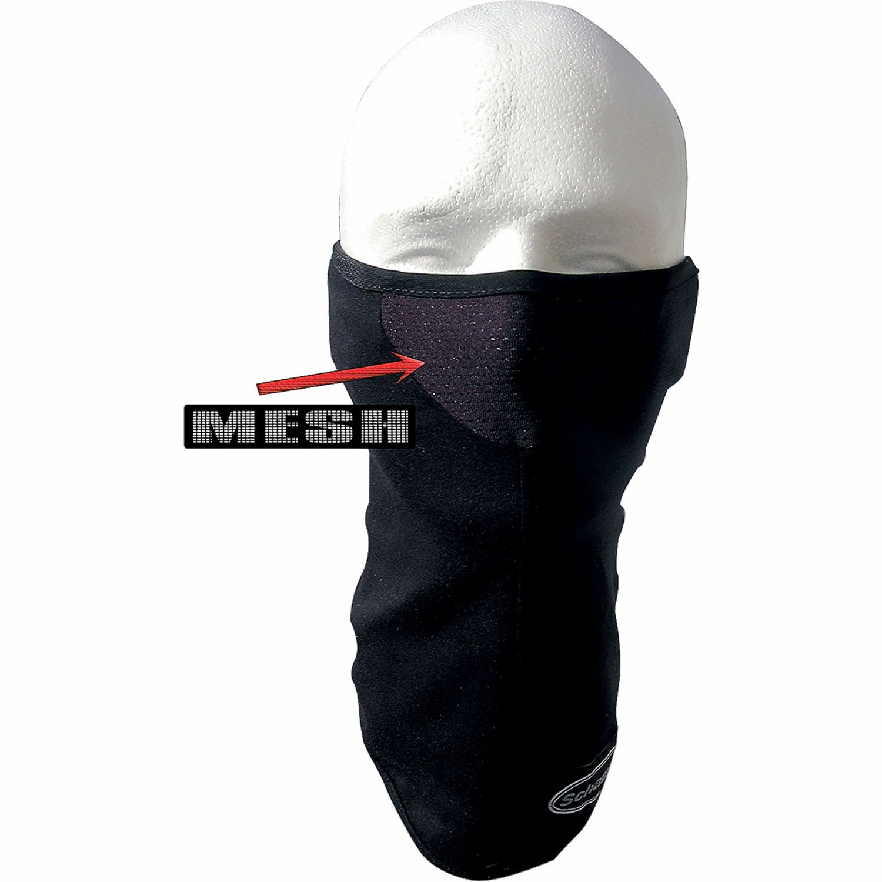 """FACEMASK 1/2""""STRETCH BK"""
