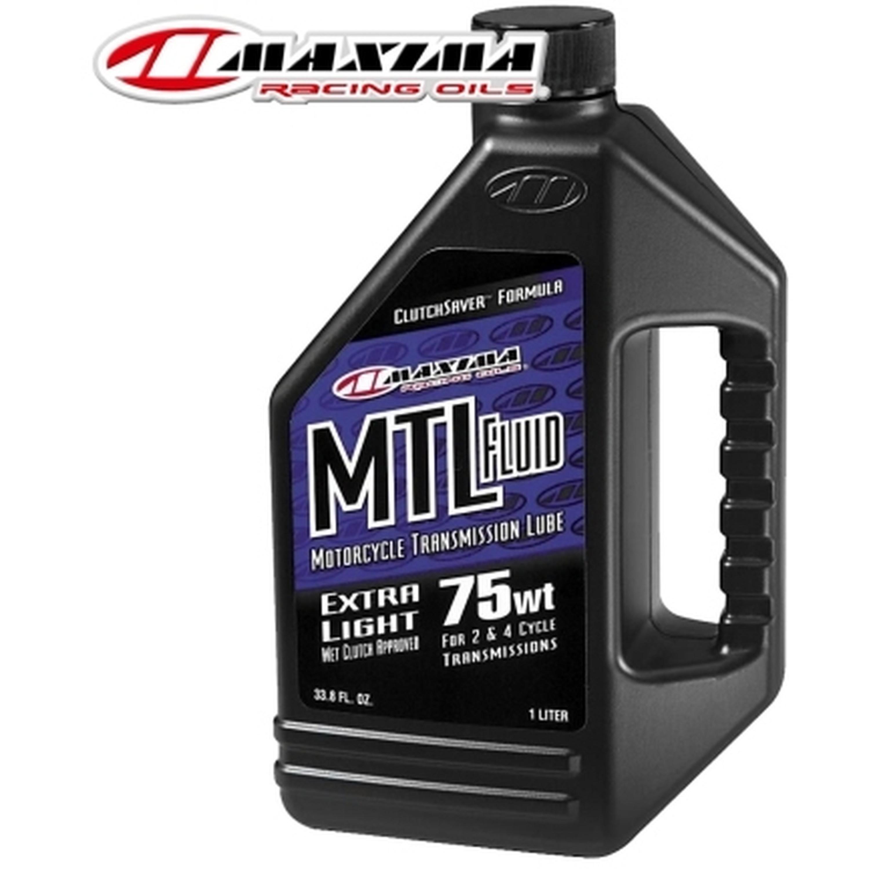 Växellådsolja 75WT Universal Extra Light 1L Maxima