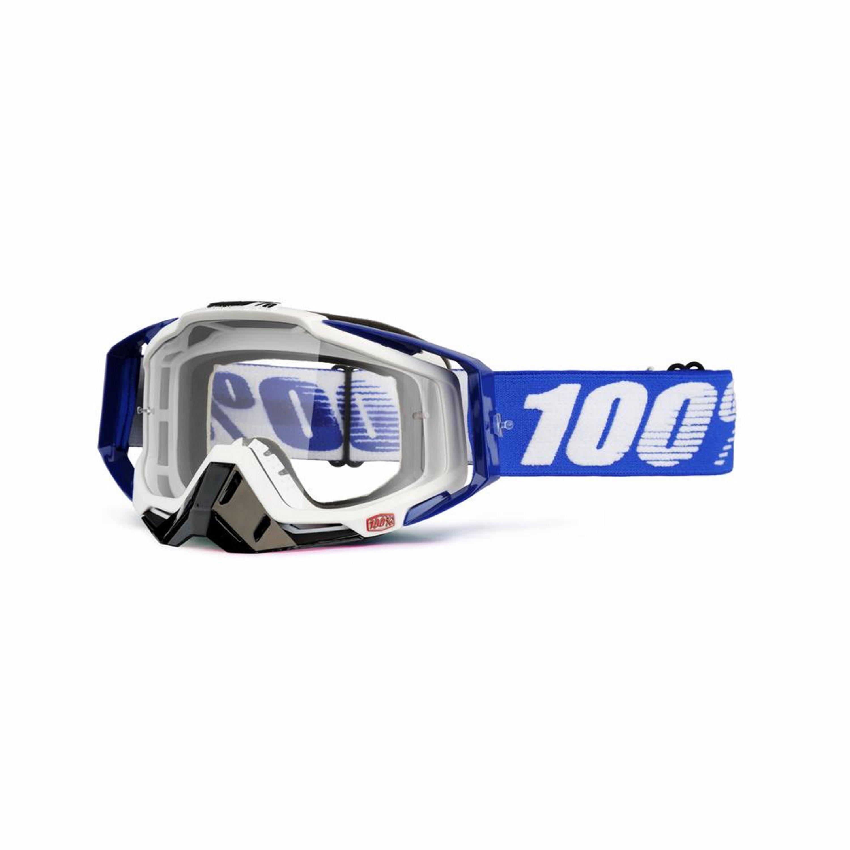 100% Racecraft Cobalt spegellins