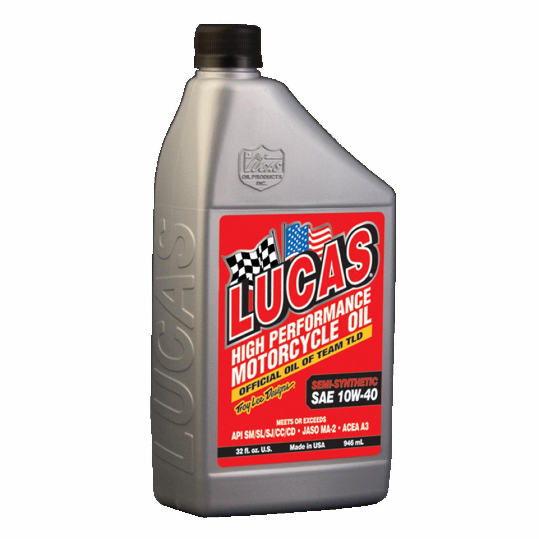 Motorolja Semi-Syntetisk 10W40 946ml Lucas Oil