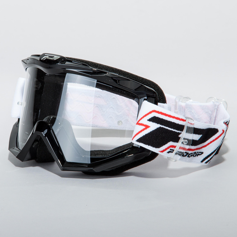 Progrip Crossglasögon Race Line Svart