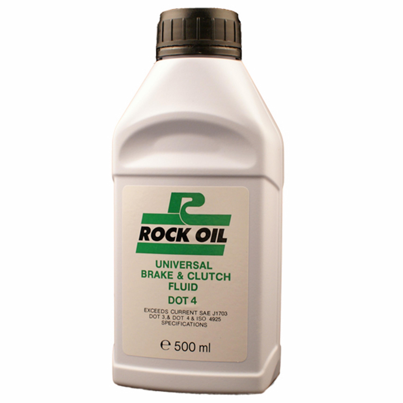Hydraulisk Bromsolja Dot 4 500 ml Rock Oil