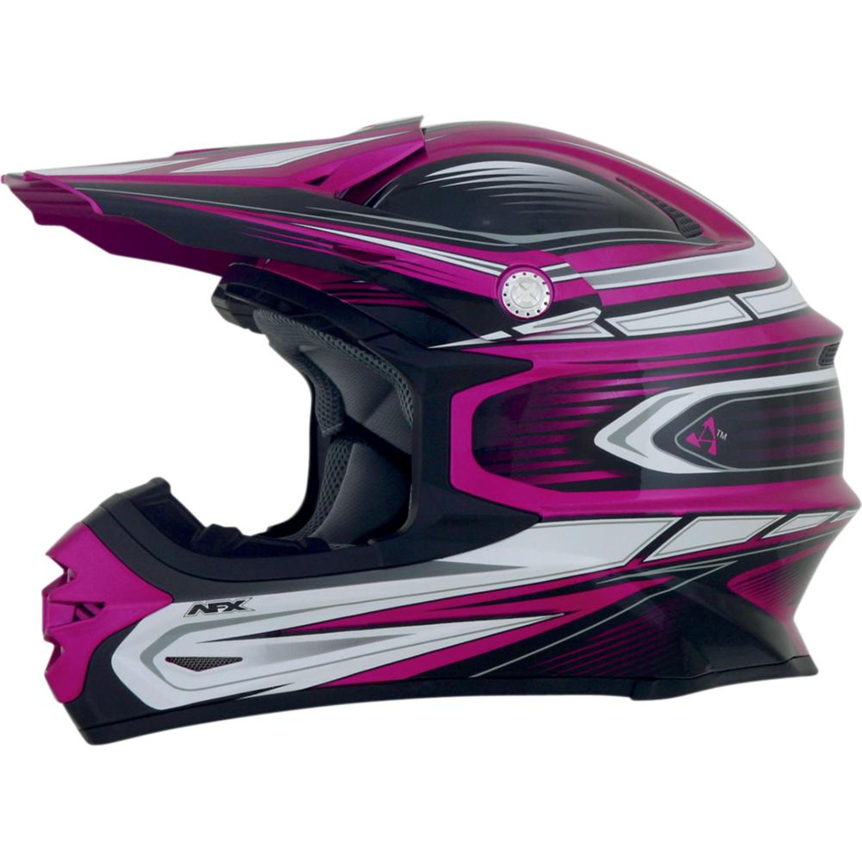 AFX Crosshjälm FX21 Multi Rosa