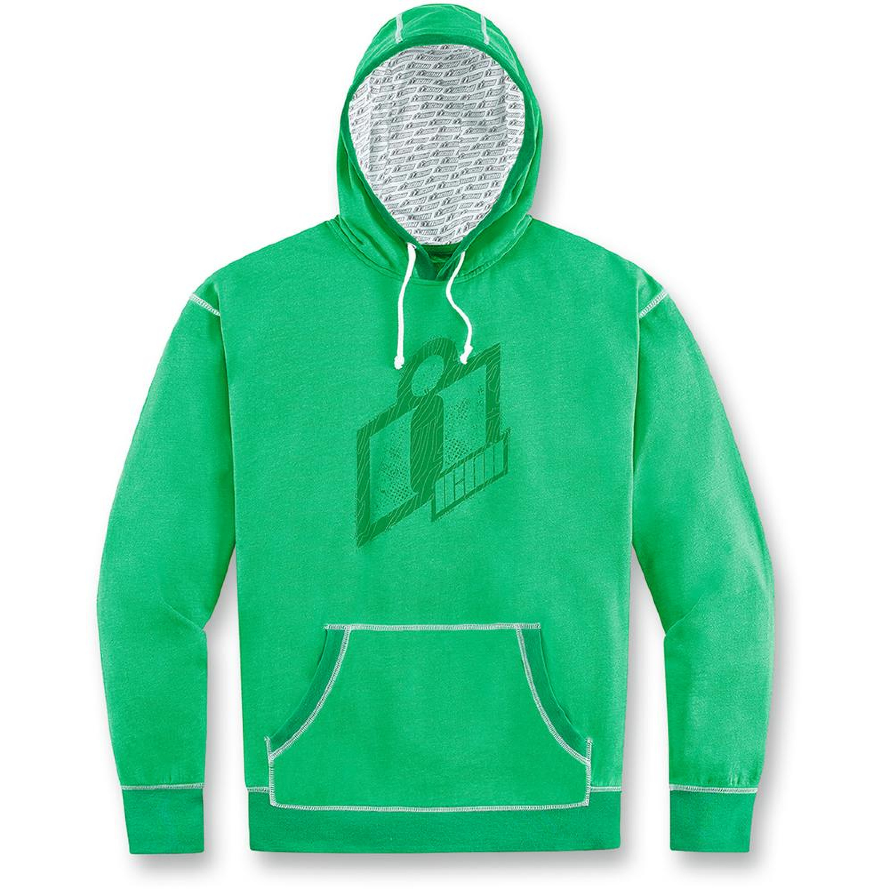 Icon Hoody Double Up Grön