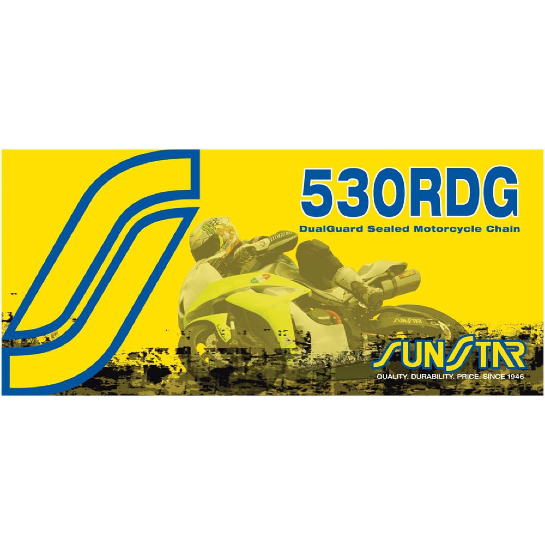 Kedja X-Ring 530 RDG Stål SUNSTAR