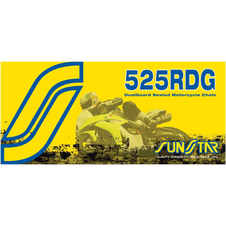 Kedja X-Ring 525 RDG Stål SUNSTAR