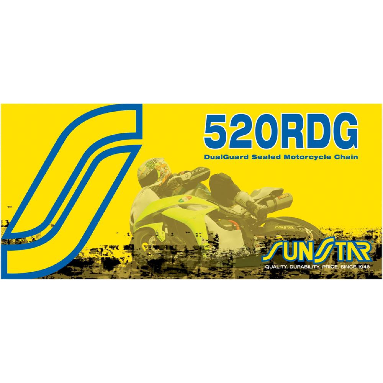 Kedja X-Ring 520 RDG Stål SUNSTAR