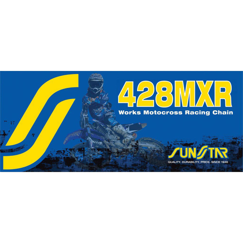 Kedja Non-Seal 428 MXR Guld SUNSTAR