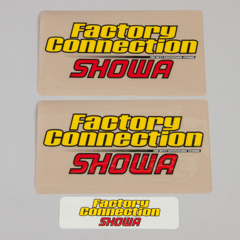 Gaffelbensdekaler SHOWA Factory Connection
