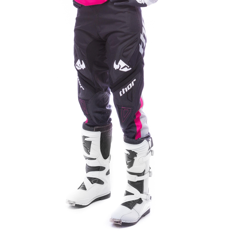 Thor Crossbyxor Tjej Bonnie 2016 Svart/Rosa
