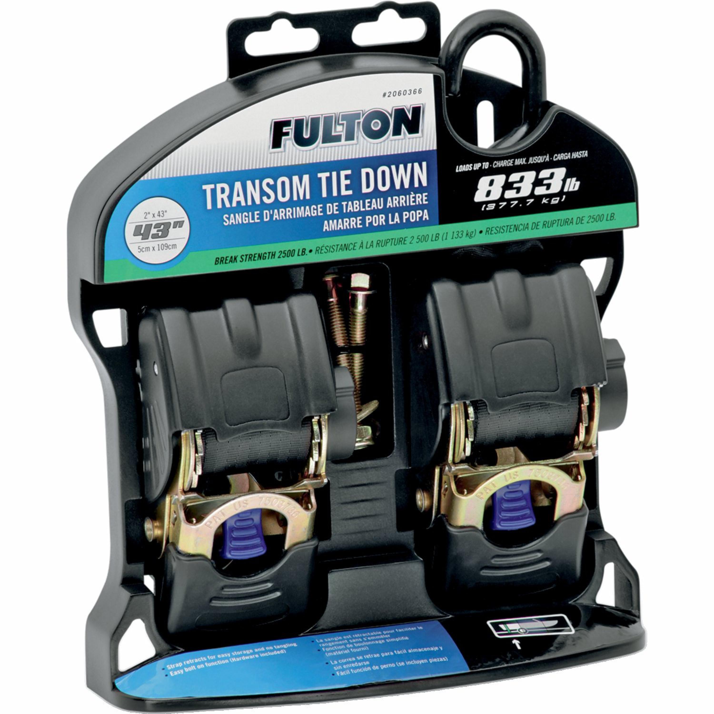 Spännband 51mm Transom Lastspännare FULTON
