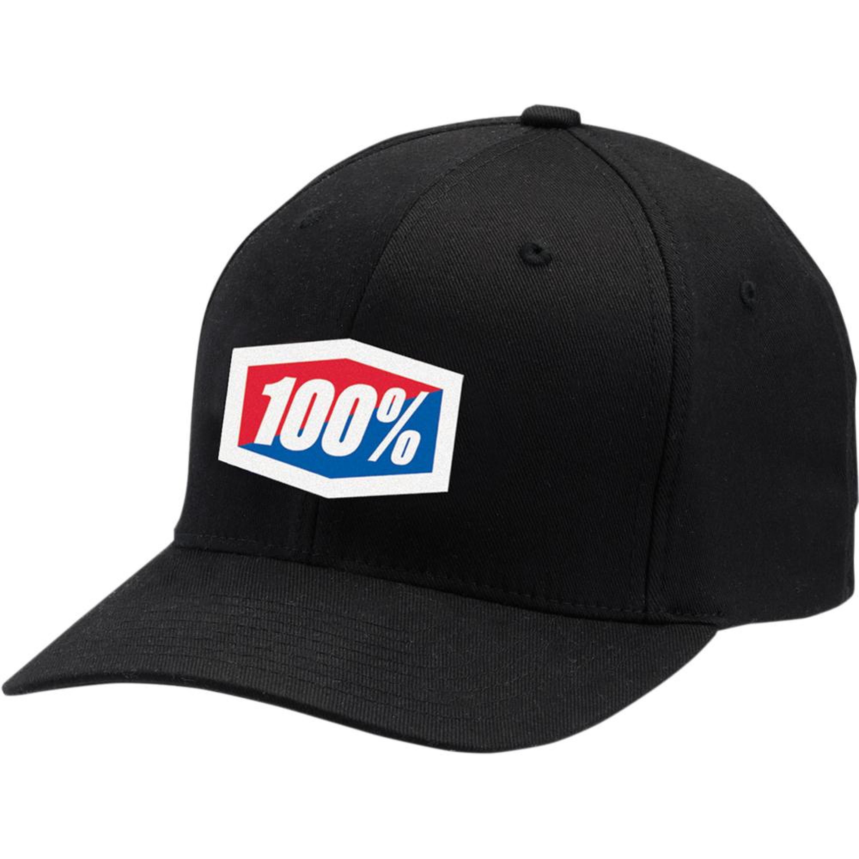 100% Keps Classic Large/XL Svart