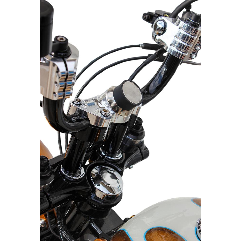Universal Mobil/GPS-Hållare CLAMP-montering Harley Davidson 84-16 KLOCK WERKS