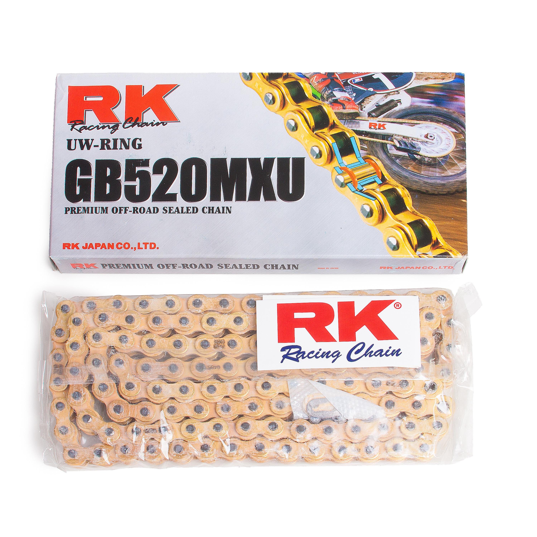 Kedjor RK 520 MXU Guld