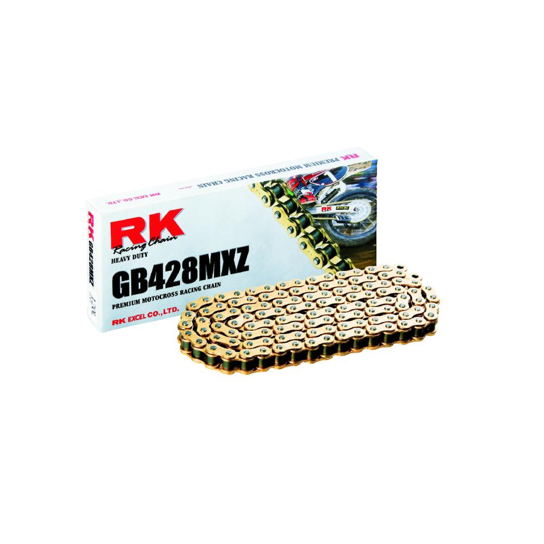 Kedjor GB428MXZ Guldfärgad Heavy-Duty RK