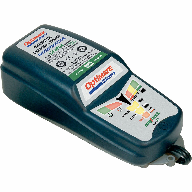 Batteriladdare Optimate Lithium