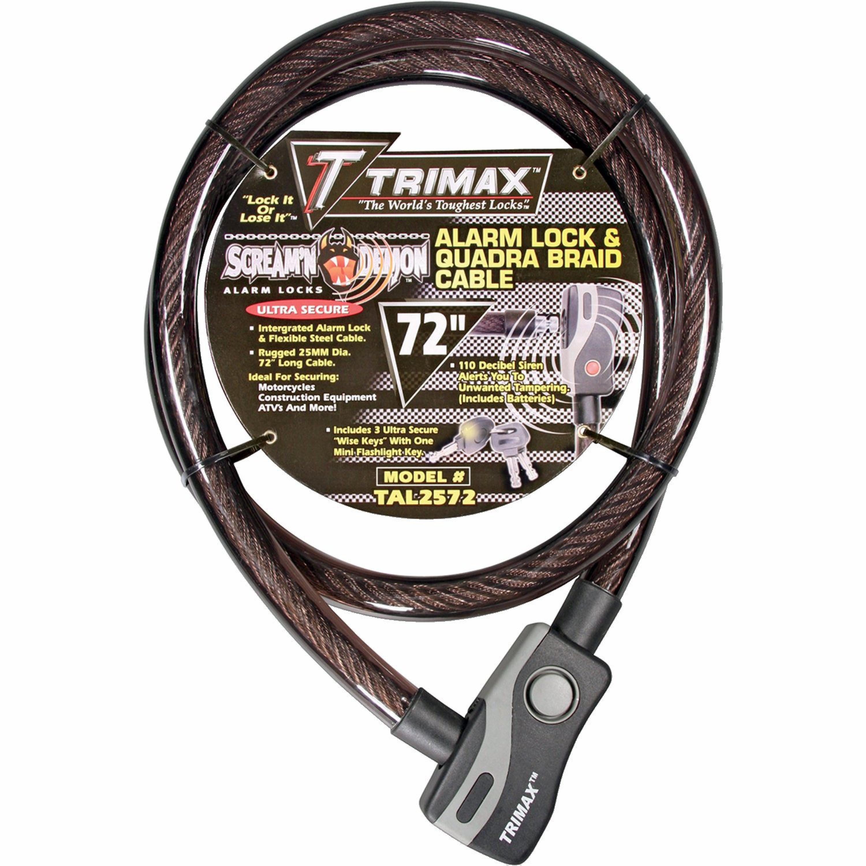 Alarm Kabel Lås Trimax