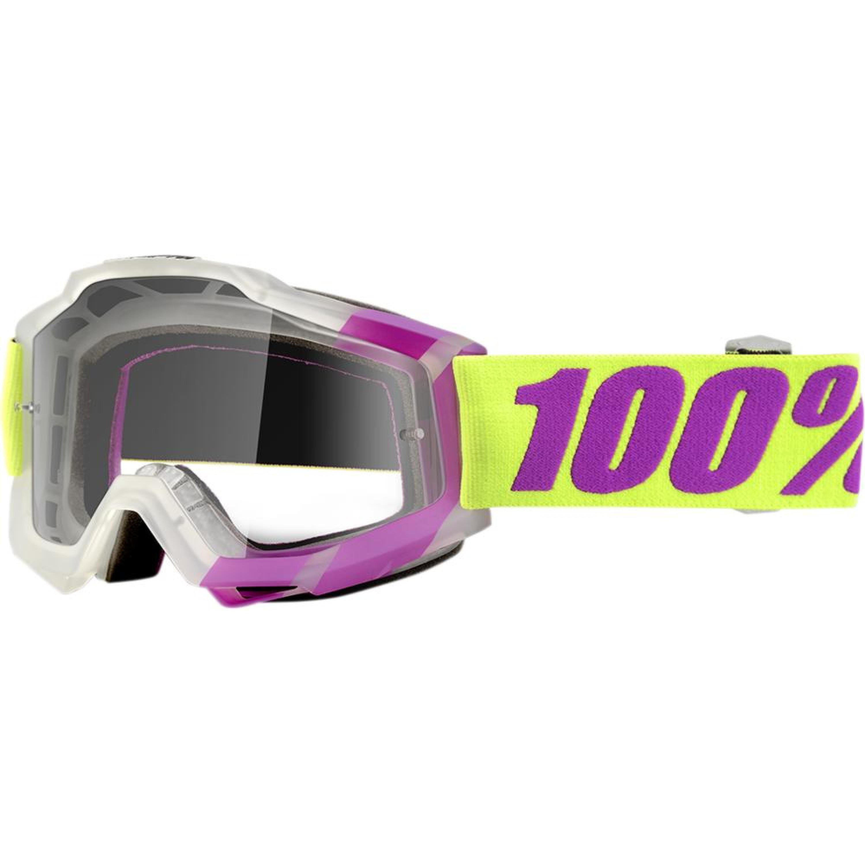 100% Crossglasögon Accuri Tootaloo Gul/Lila