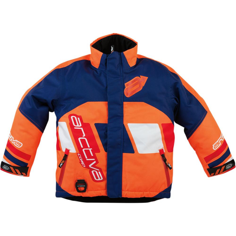 Arctiva Skoterjacka Barn Comp Navy/Orange