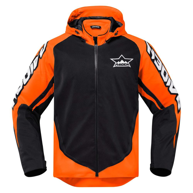 Icon Textiljacka UX Waterproof Orange