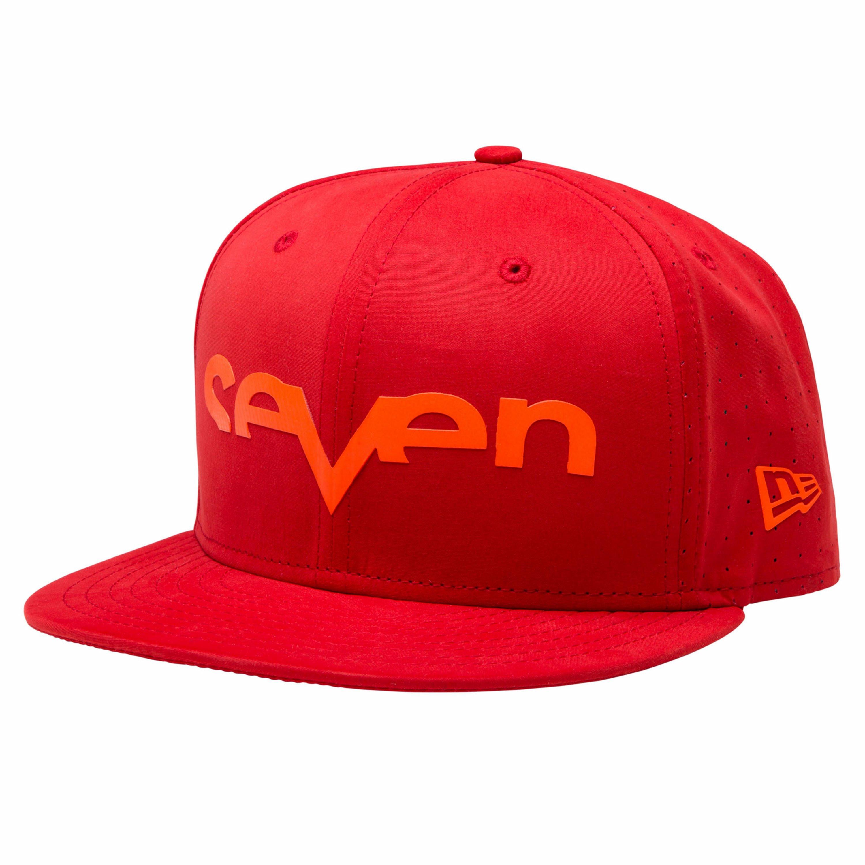 SEVEN Keps Brand Punched 2016 Röd/Röd