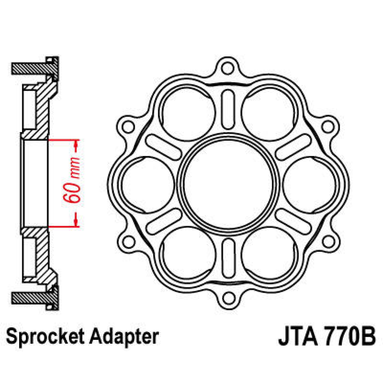 Ducati Drevhållare JT