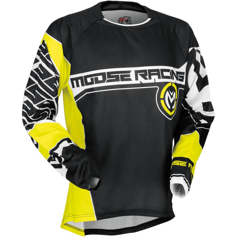 Moose Racing Crosströja Qualifier 2017 Svart/Gul