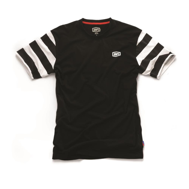 100% T-Shirt Folsom Svart