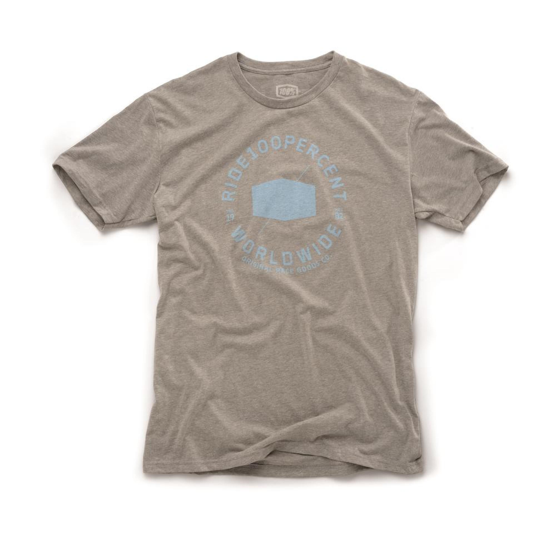 100% T-Shirt Worldwide Grå