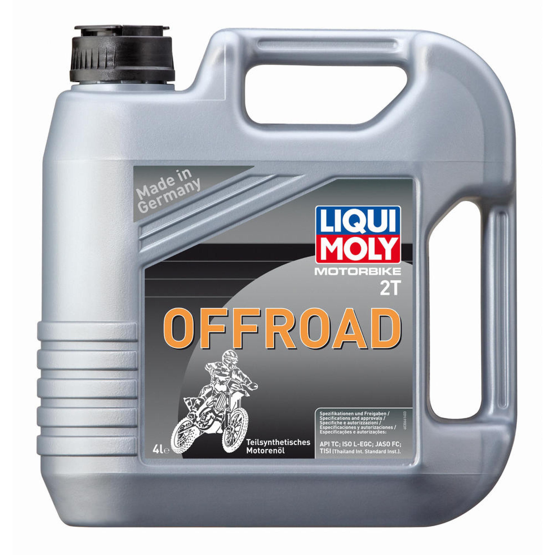 Motorolja 2-Takt Offroad Delsyntet Liqui Moly