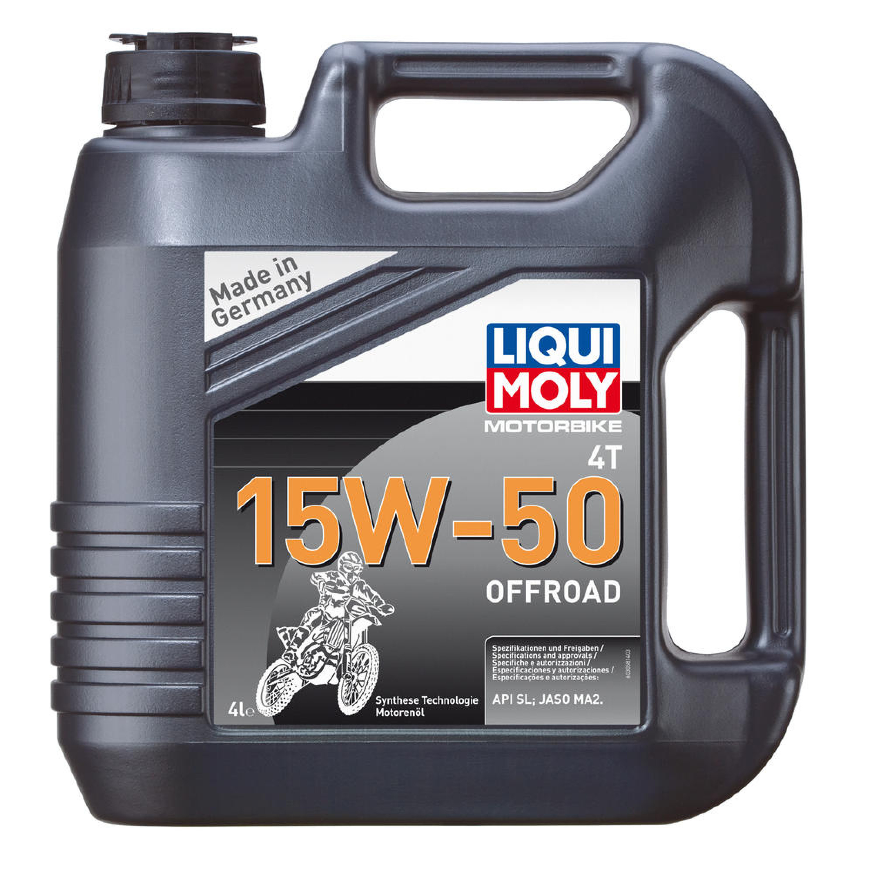 Motorolja 4-Takt Syntet Tech 15W-50 Offroad LIQUI MOLY