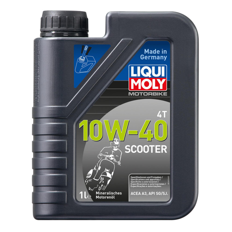 Motorolja 4-Takt Mineral 10W-40 Scooter LIQUI MOLY