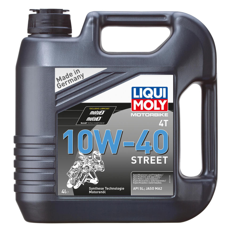 Motorolja 4-Takt Syntet Tech 10W-40 Street Race LIQUI MOLY