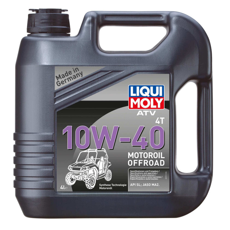Motorolja 4-Takt Syntet Tech 10W-40 ATV LIQUI MOLY