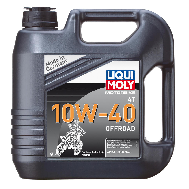Motorolja 4-Takt Syntet Tech 10W-40 Offroad LIQUI MOLY