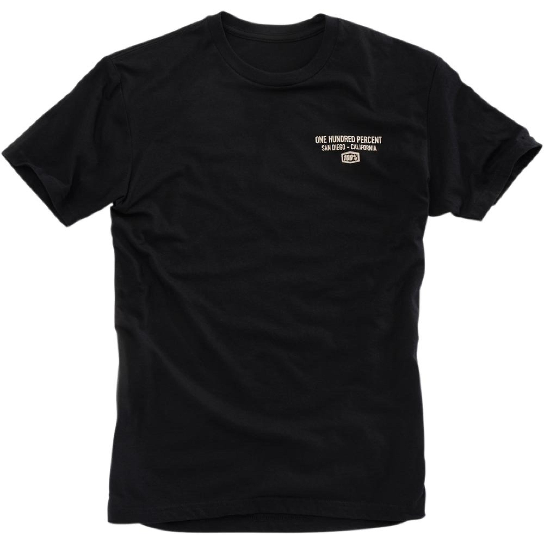100% T-Shirt Passion Svart