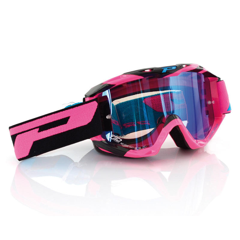 PRO GRIP Crossglasögon 3450 Fluo Multilayered Svart - Klar