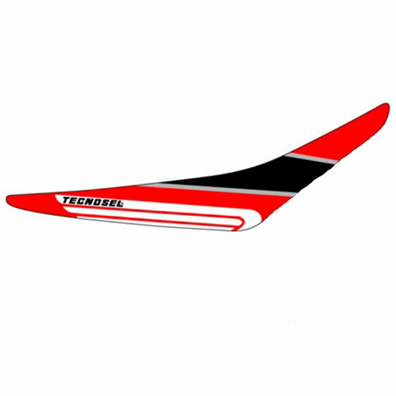 Tecno-X, Dekal Grip, CR 125/250, 00-01 Svart