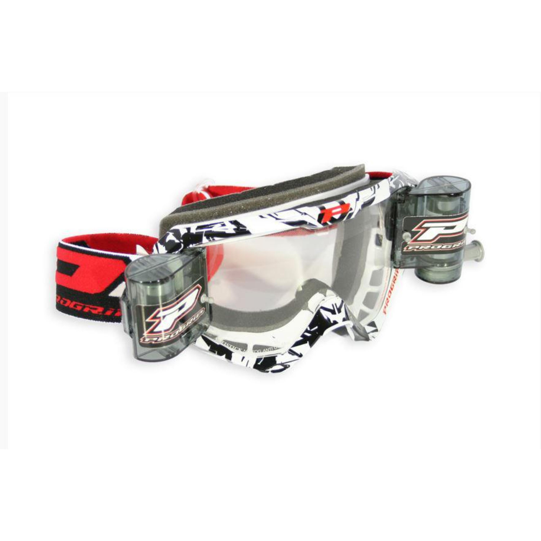 PRO GRIP Crossglasögon 3458 Race Pack Svart - Klar