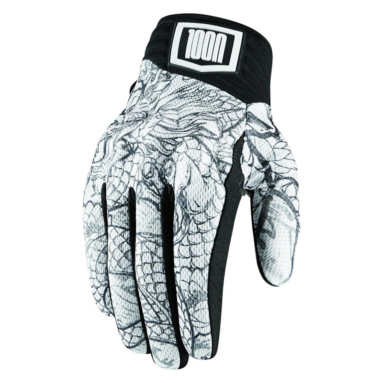 Icon MC-Handskar Luckytime Vit