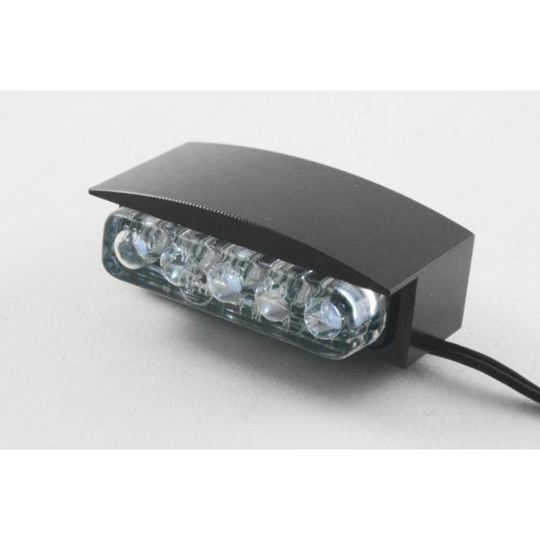 Nummerplåtsbelysning Mini LED Svart Parts Europe
