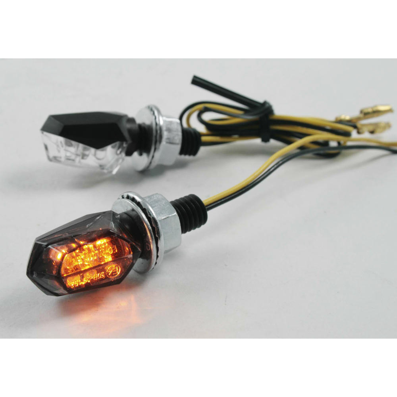 Blinkers Ultra Mini LED Svart Parts Europe