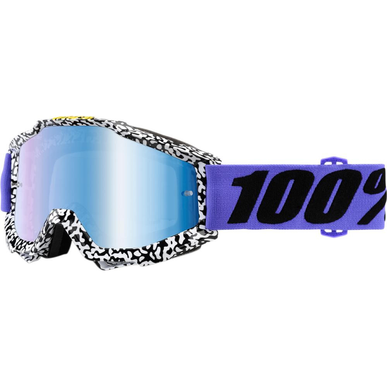 100% Crossglasögon Accuri 2018 Lila Spegel